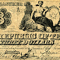 Texas Banknote, 1841 by Granger