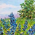 Texas Bluebonnets by Karen Tarlton