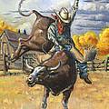 Texas Bull Rider by Jeff Brimley