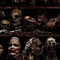 Texas Chainsaw 3d Faces by Movie Poster Prints