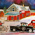 Texas Farm Winter by Michael Litvack