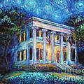 Texas Governor Mansion Painting by Svetlana Novikova