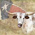 Texas Longhorn # 2 by Betty LaRue