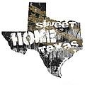Texas Map Cool by Voros Edit