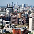 Texas Medical Center In Houston by Bill Cobb