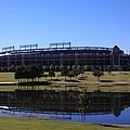 Texas Rangers Reflection by Alec Drake