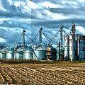 Texas Silos by Joe Bledsoe