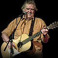 Texas Singer Songwriter Guy Clark In Concert by Randall Nyhof