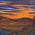 Texas 'sunset by Kathy Peltomaa Lewis