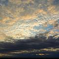 Texas Storm Cloud Sunset by Lindy Pollard