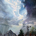 Texas Thunderstorm by Karen Kennedy Chatham