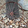 Texas Wagon Wheel by Kristie Briones