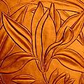 Textured Flower3 by Riad Belhimer