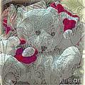 Textured Teddy by Kathleen Struckle