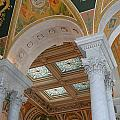 Great Hall Of The Library Of Congress by Allen Beatty