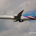 Thai Airways A340 Airbus by Rene Triay Photography