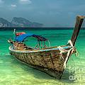 Thai Boat  by Adrian Evans