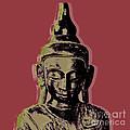 Thai Buddha #1 by Jean luc Comperat