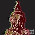 Thai Buddha #3 by Jean luc Comperat