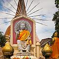 Thai Buddha by Inge Johnsson