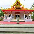 Thai Buddhist Temple I by Buzz  Coe