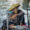 Thai Floating Market No 1 by Paul W Sharpe Aka Wizard of Wonders