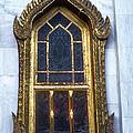 Thai Temple Window by Bob Phillips