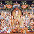 Buddha Art Thangka by Ts