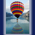Thank You Hot Air Balloon In Alaska by Michael Peychich