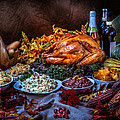 Thanksgiving Dinner by Mike Penney