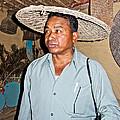 Tharu Chitwan National Park Naturalist In Tharu Village In Nepal  by Ruth Hager