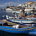 Thassos Island Greece Blue Harbor by Daliana Pacuraru