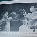 That Me Fighting Erving Nard In 1954 by Robert Floyd