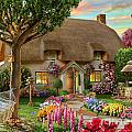 Thatched Cottage by MGL Meiklejohn Graphics Licensing