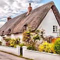Thatched Cottage Avebury by Paul Gulliver