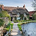 Thatched Cottage Thornton Le Dale by Richard Burdon