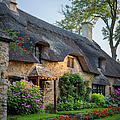 Thatched Roof - Cotswolds by Brian Jannsen