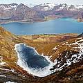 Thawing Spring Fjordland Vista by David Broome