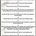 The 10 Commandments For Pets On Black Marble by Desiderata Gallery
