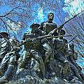The 107th Infantry Memorial Sculpture by Allen Beatty