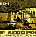 The Acropolis Athens by Michael Moore
