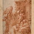 The Adoration Of The Magi by Correggio