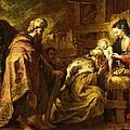 The Adoration Of The Magi by Orazio de Ferrari