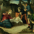 The Adoration Of The Shepherds, 1540s by Jacopo Robusti Tintoretto