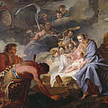 The Adoration Of The Shepherds by Jean Baptiste Marie Pierre
