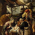 The Adoration Of The Shepherds by Pedro Orrente