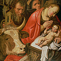The Adoration Of The Shepherds by Pieter Aertsen