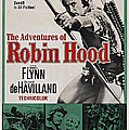 The Adventures Of Robin Hood B by Movie Poster Prints