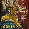 The Adventures Of Robin Hood  by Movie Poster Prints