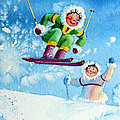 The Aerial Skier - 10 by Hanne Lore Koehler